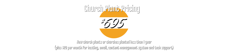 Church Plants: $695